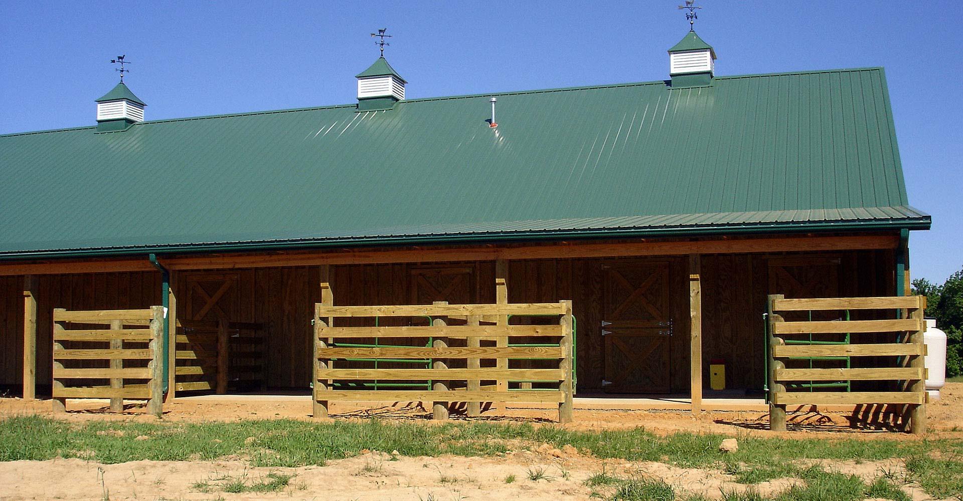 64 X80 X10 Llama Barn Stoneburner